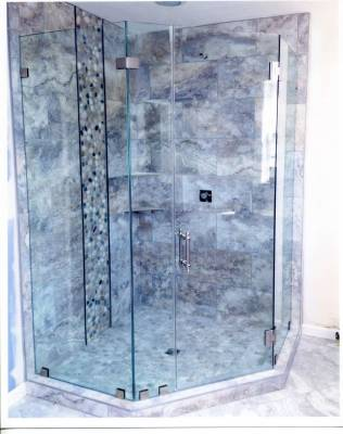 Shower Glass Doors How To Clean The Stubborn Soap Scum