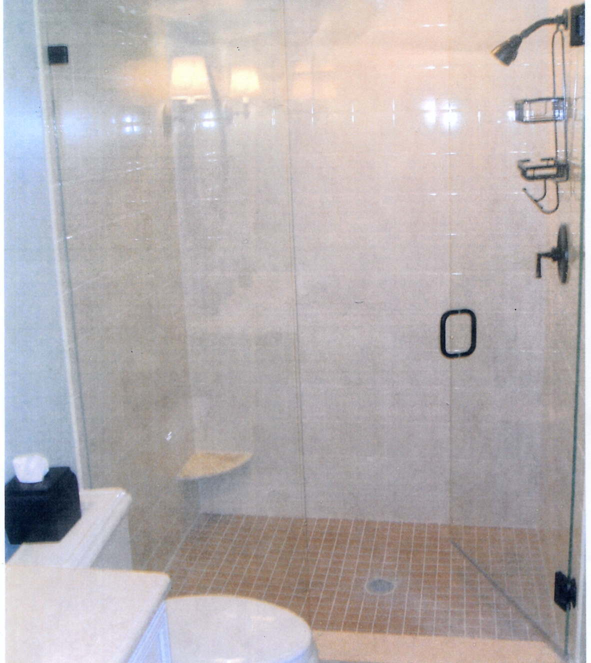 Gentil Frameless Shower Doors Modern Clean Contemporary Rockville Md.
